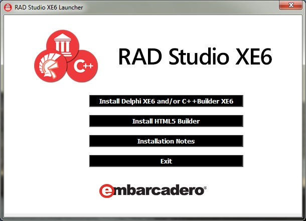 Rad studio Xe 6 windows 7 kurulum